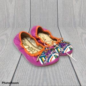 Sam Edelman Felicia Embroidered Ballet Flats